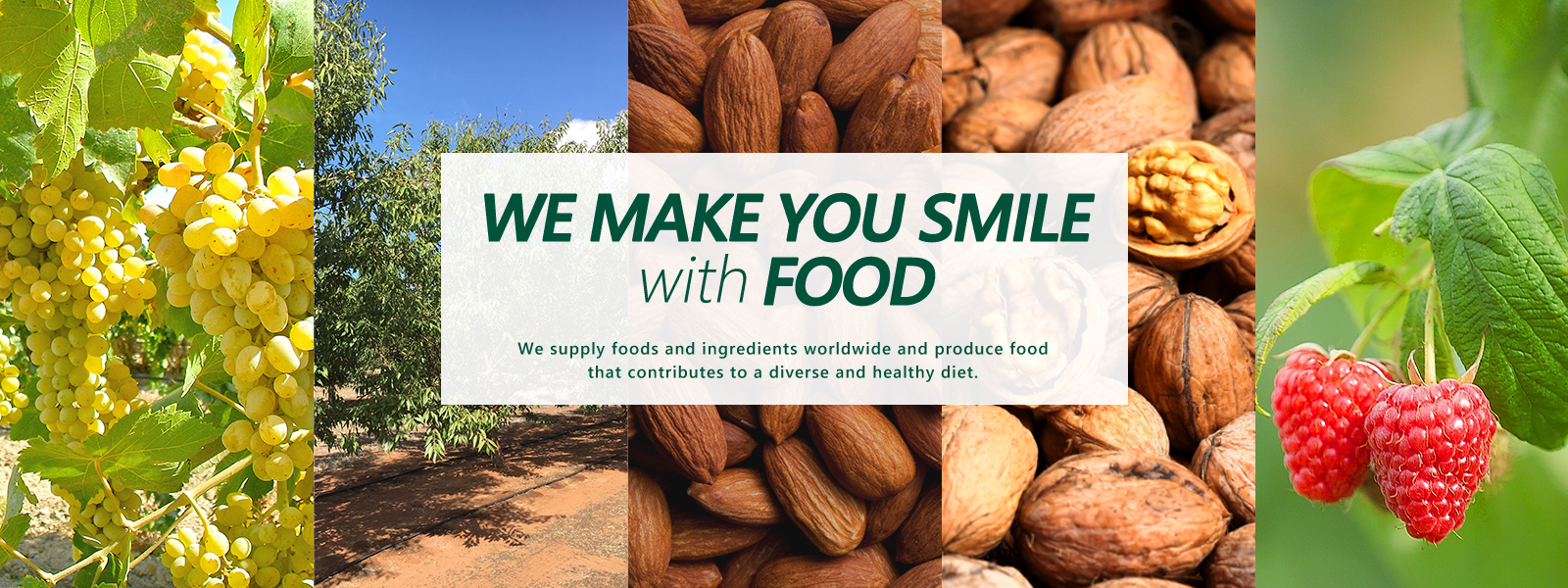 MAKE YOU SMILE with FOOD